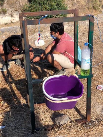 그리스 레스보스 모리아 난민캠프
