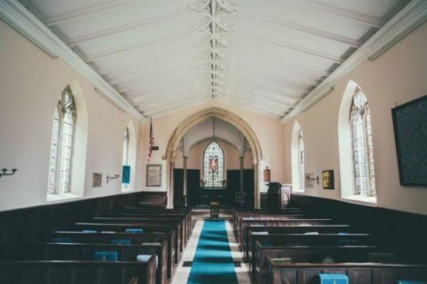 미국 교회의 한 예배당