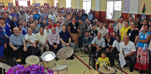 쿠바 하나님의 성회 교회 목회자들
