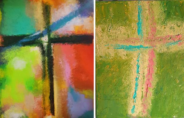 김연재 박사의 십자가 작품들