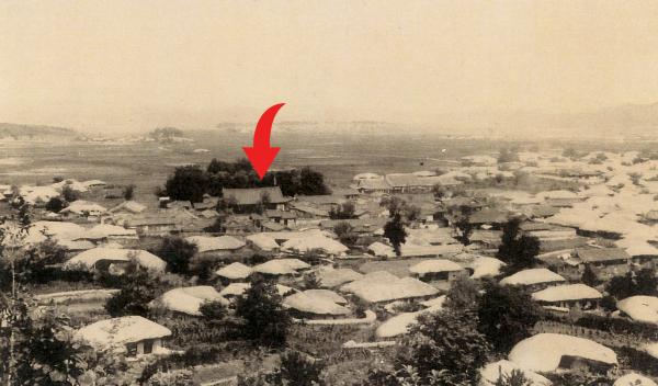 1910년대 강원감영 객사 모습