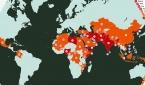 2021년 월드워치리스트(WWL) 지도