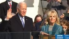바이든 미 대통령 취임 선서