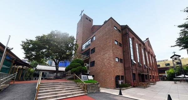 승동교회 건물
