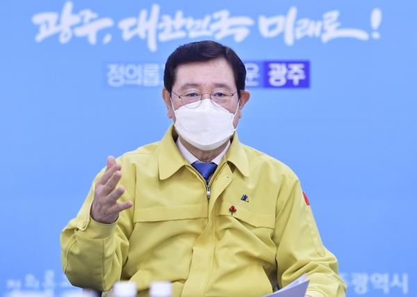 광주광역시 이용섭 시장.