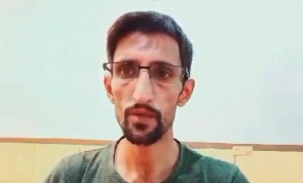 지난 8일 불법 재수감 된 후 단식투쟁 중인 에브라힘 피루지.
