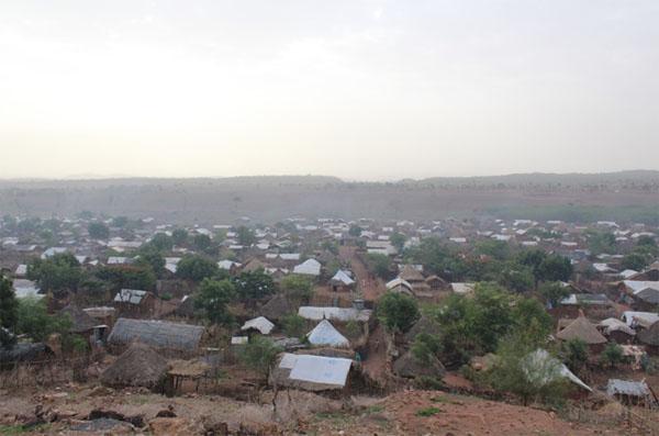 에티오피아에 개척된 첫 에리트레아인 난민촌.