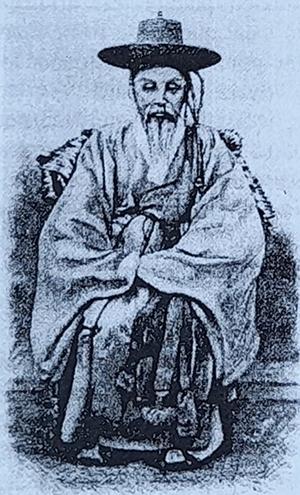 옛 관리의 모습