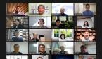 함선네 온라인 지역교회 선교역량강화 세미나 진행자와 강사, 참가자들.