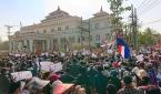 지난 2월 미얀마 군사 쿠데타 반대 시위 모습