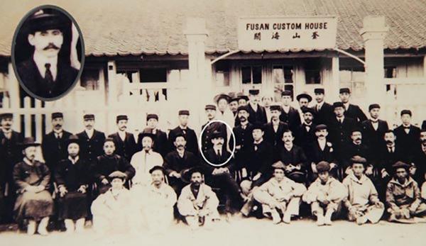 1890년 부산해관과 헌트 해관장