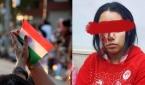 인도의 국기, 피격당한 이집트 소녀 마리얀