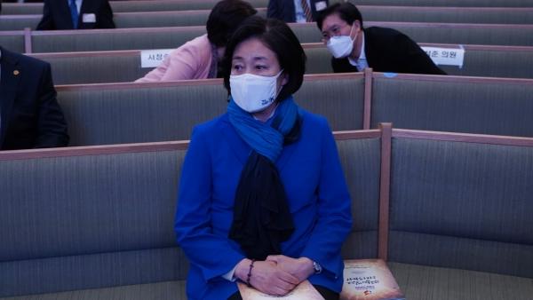 서울시장 보궐선거 후보인 더불어민주당 박영선 후보