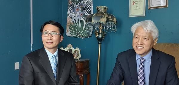 김종윤 목사와 이학재 교수