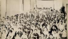 1898년 교회당에서의 여성석 구분 모습