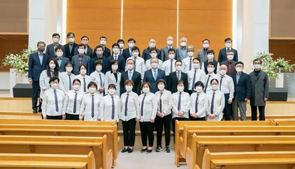 새로남교회 농아 교우들이 함께 예배를 드렸다.