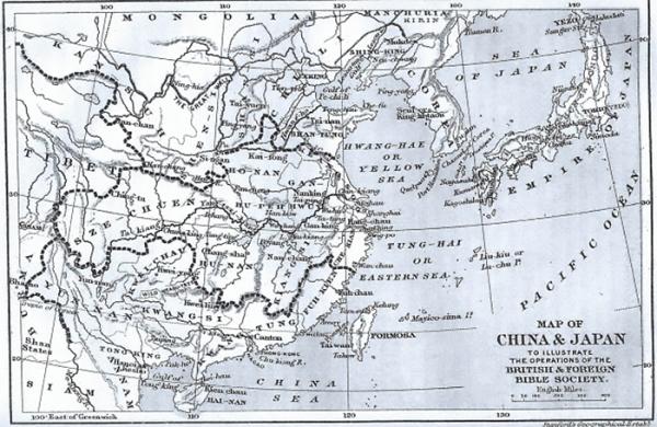 1899년 대한국 지도