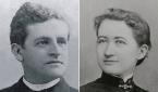 헨리 게르하르트 아펜젤러 선교사와 부인 엘라 다지 아펜젤러 선교사의 20대 시절.