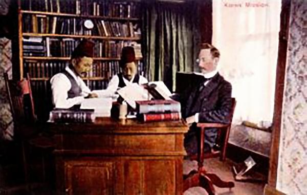 1910년 성경번역위원회 김정삼, 이승두, 레놀즈