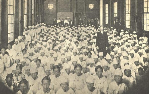 1910년(추정) 평양부인사경회 모습.