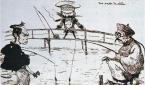 세 나라가 각축을 벌인 당시 한반도 상황을 그린 죠르쥬 비고의 풍자화