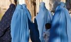 부르카를 착용한 아프간 여성들