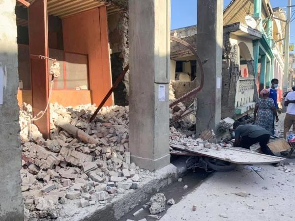 한교봉-KWMA, 아이티 지진 긴급구호