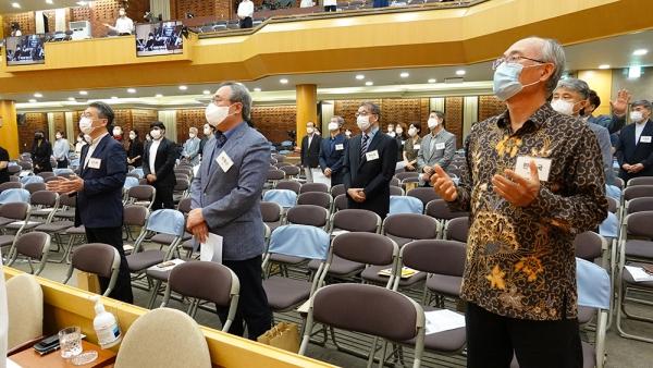 온누리교회 코로나19 순직 선교사 가족 위로예배