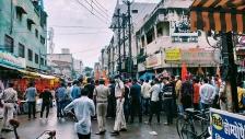 인도에서 발생한 기독교 반대 시위 모습