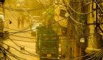 인도 델리의 스모그.