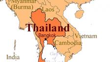 태국 지도